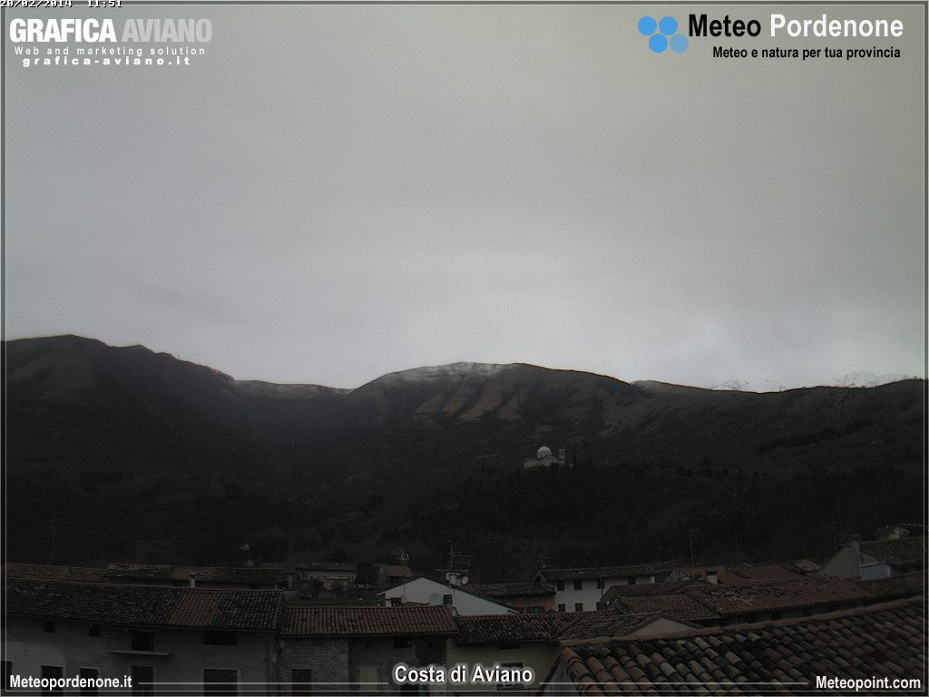 Webcam Aviano PN