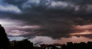 Nubi arrabbiatissime a Pordenone