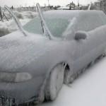 Gli effetti della pioggia congelata nella vicina Slovenia! Foto